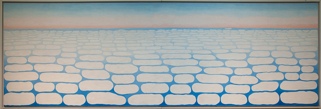 Sky Above Clouds IV 1965 © Georgia O'Keeffe, The Art Institute of Chicago