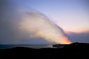 Lava Flow, Pahoa, HI 2009 © David Ulrich